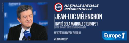 Jean-Luc Mélenchon, invité de la matinale