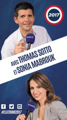 Avec Thomas Sotto et Sonia Mabrouk