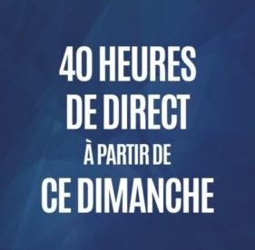 40 heures de direct