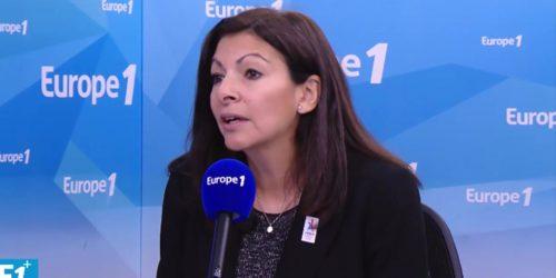 Anne Hidalgo sur Europe 1