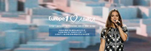 Europe 1 partenaire de l'Eurovision