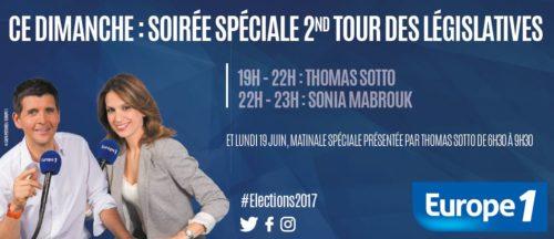Soirée spéciale second tour législatives