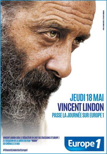 Journée spéciale Vincent Lindon sur Europe 1