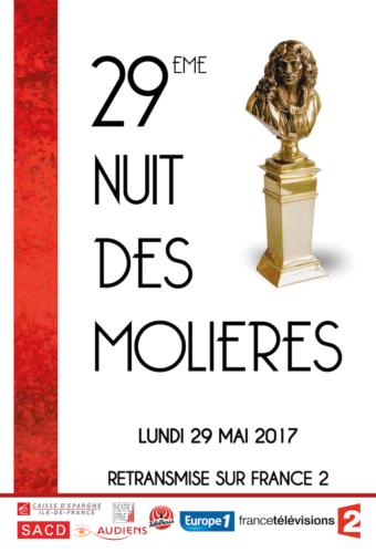 France 2 - La 29ème Nuit des Molières