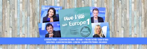 Europe 1 - Eté 2017