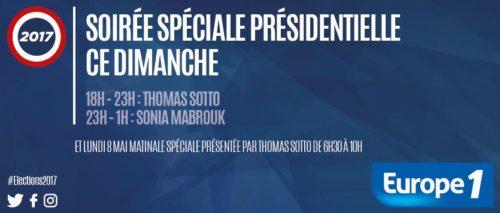 Soirée spéciale présidentielle 7 mai