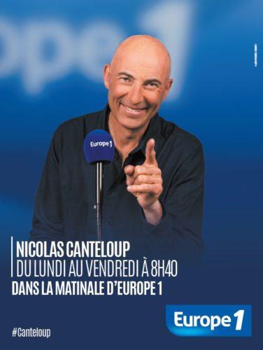 Nicolas Canteloup dans la matinale