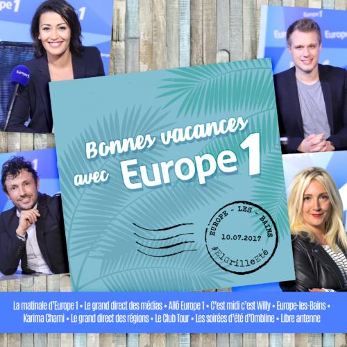 Bonnes vacances sur Europe 1