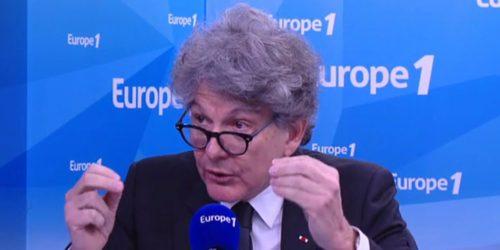 Thierry Breton sur Europe 1