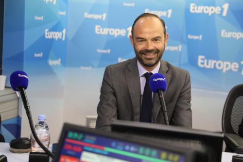 Edouard Philippe sur Europe 1 - Marie Etchegoyen Capa Pictures