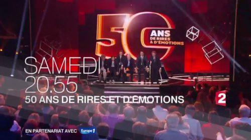 France 2 - 50 ans de rires et d'émotions