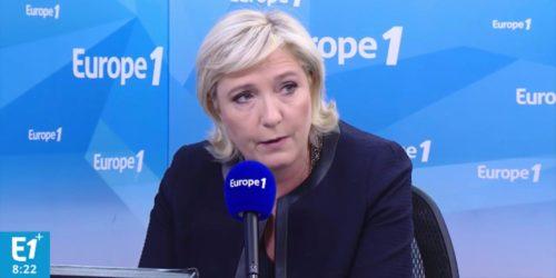 Marine Le Pen sur Europe 1