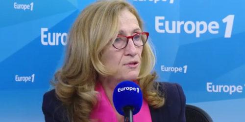 Nicole Belloubet sur Europe 1