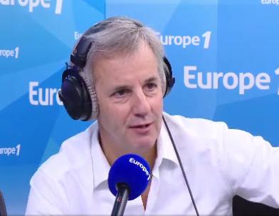 Bernard de la Villardiere sur Europe 1