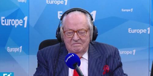 Jean-Marie Le Pen sur Europe 1