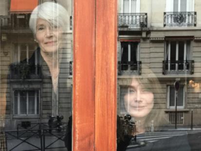 Françoise Hardy et Carla Bruni