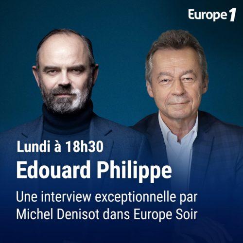 Edouard Philippe invité de Michel Denisot